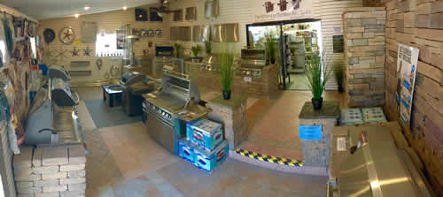 Huge inside Firepits and Fireplaces Showroom