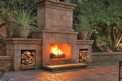 Large Outdoor Ventless Fireplace all masonry and side fire log places Fire Pit Outdoor Fireplace   Vista  Oceanside  Carlsbad  Escondido  . Large Outdoor Fireplace. Home Design Ideas