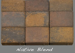 Native Blend thin veneer pavers
