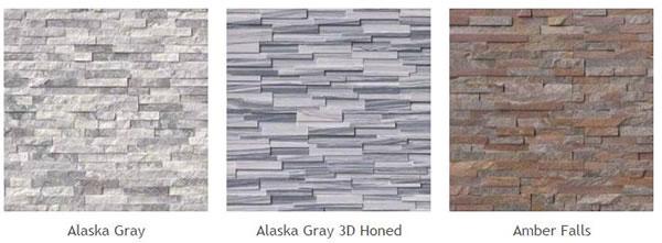 natural stone veneer panels of different types alaska gray alaska gray 3d honed